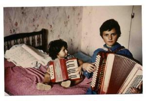 avec Barbarie Crespin, 1980
