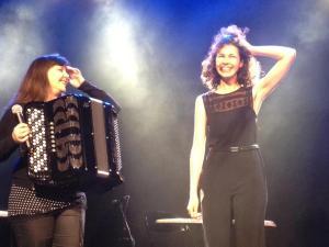 Spectacle Saint Germain, Belfort La Poudrière, Mars 2013, avec Myriam Joly