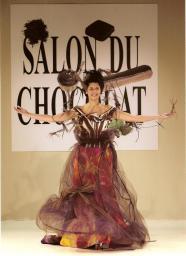 Salon du Chocolat pour la créatrice Mi&Canna